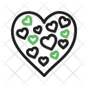 Hearts Chocolate Gift Icon