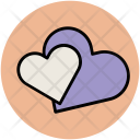 Hearts Love Affection Icon