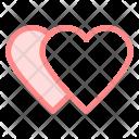 Hearts Love Wdding Icon