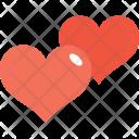 Hearts Love Favorite Icon