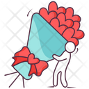 Hearts Bouquet Icon