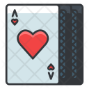 Hearts Cards Gambling Icon