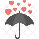 Hearts Raining Icon