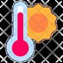 Heat Temperature Hot Icon