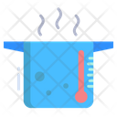 Heat Energy Hydraulic Energy Thermal Power Plant Icon