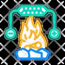 Heat Peltier Icon