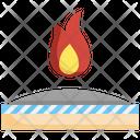 Heat Resistance Heatproof Fabric Resistant Icon