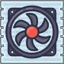 Heat Sink Icon