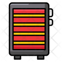 Electric Warmer Electric Heater Electronics Icon