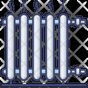 Heater Radiator Interior Icon