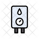 Water Heater Measure Icon