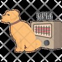 Heater Cold Labrador Icon