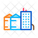 Heaters Residential Buildings Icon