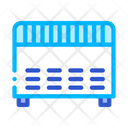 Heating Electronic Home Icon