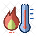 Heating Thermometer Heat Icon