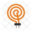 Heating Element Circuit Icon