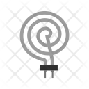 Heating coil Icon