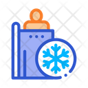 People Heating Point Icon