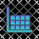 Heatmap Data Visualisation Icon