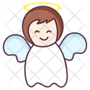 Heaven Angel Cartoon Character Bless Angel Icon