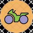 Heavy Bike Motorbike Icon