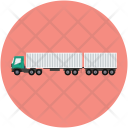 Heavy Truck Delivery Icon
