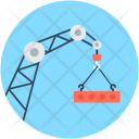 Heavy Machinery Crane Icon