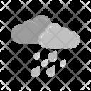 Heavy Rain Cloud Icon