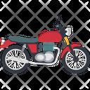 Heavy Bike Motorbike Motorcycle Icon