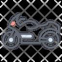Heavy Bike Sports Bike Transport Icon