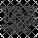 Heavy Payable Tax Tax Load Tax Responsibility Icon