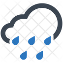 Cloud Drops Heavy Icon
