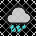 Cloud Heavy Rain Icon