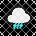 Ice Rain Freezing Icon