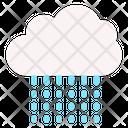 Heavy Rain Rain Night Icon