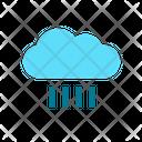 Heavy Shower Shower Rain Icon