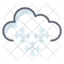 Heavy Snow Snowfall Winter Weather Icon