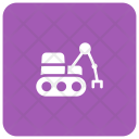 Crane Forklift Lifter Icon