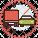 Heavy Vehicle Do Not Overtake Icon