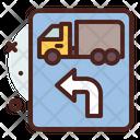 Heavy Vehicle Left Side Icon