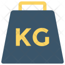 Heavy Kg Weight Icon