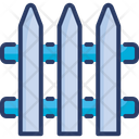 Hedge Fence Palisade Icon