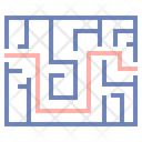 Hedge Maze Block Maze Business Labyrinth Icon