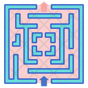 Hedge Maze Block Maze Game Icon