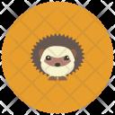 Hedgehog Animal Icon