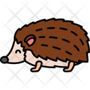Hedgehog Animal Wild Icon