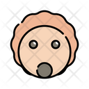 Hadgehog Animal Character Icon