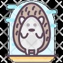 Hedgehog Cartoon Icon
