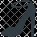 Heel Sandal Strap Icon