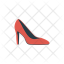 Heel Stiletto Footwear Icon